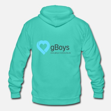 Community gBoys Community - Unisex hoodie van Bella + Canvas
