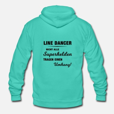 Linedance Linedancer-Shirt: Superhelden ohne Umhang - Unisex Kapuzenjacke von Bella + Canvas