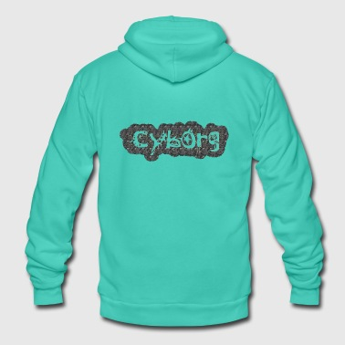 Cyborg cyborg - Unisex Hooded Jacket by Bella + Canvas