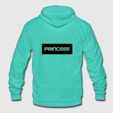 Princess - Princess - Unisex Hooded Jacket by Bella + Canvas