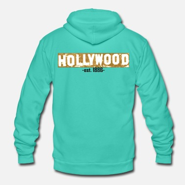 Hollywood Hollywood - Veste à capuche unisexe Bella + Canvas