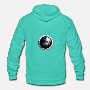 Clock World Clock - Unisex hoodie van Bella + Canvas