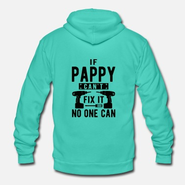 Huono JOS PAPPY EI OLE FX IT NO CAN - Unisex Bella + Canvas -hupputakki