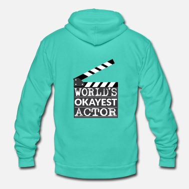 Hollywood Funny Actor Gift - Le meilleur acteur au monde - Veste à capuche unisexe Bella + Canvas