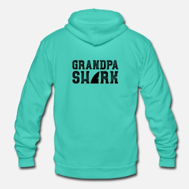 Grandpa Grandpa grandpa grandpa birthday gift - Unisex Hooded Jacket by Bella + Canvas
