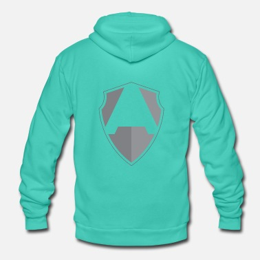 Shield A shield - Unisex Hooded Jacket by Bella + Canvas