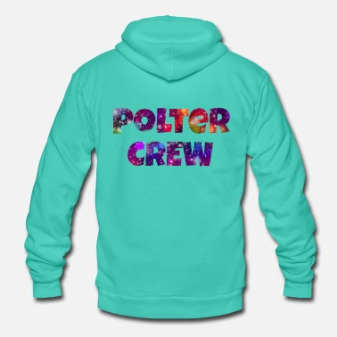 Wedding Party Hen Party TShirt poltercrew for the guests - Unisex Zip Hoodie