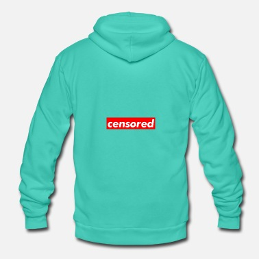 Censored censored - Unisex Hooded Jacket by Bella + Canvas