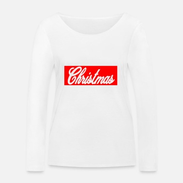Obey Obey Merry Christmas Vibe Idée cadeau Hiver Coca - T-shirt manches longues bio Stanley & Stella Femme