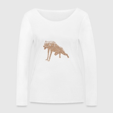Aggressive Aggressive Wolf - Women's Organic Longsleeve Shirt by Stanley & Stella