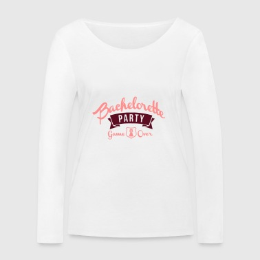 Bachelorette party bachelorette party marriage - Women's Organic Longsleeve Shirt by Stanley & Stella