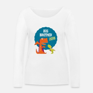 Super Big Brother, Fratrie, Frère 2018 T-shirt - T-shirt manches longues bio Stanley & Stella Femme