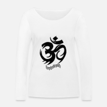 ॐ OM ~ ~ - T-shirt manches longues bio Femme