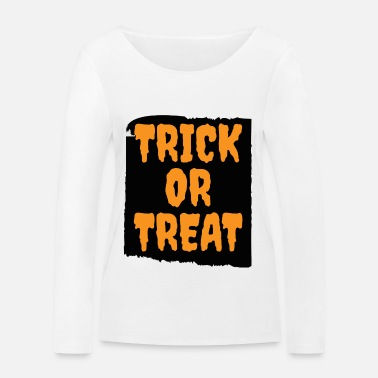 Trick Or Treat Trick or Treat black - Frauen Bio-Langarmshirt von Stanley & Stella