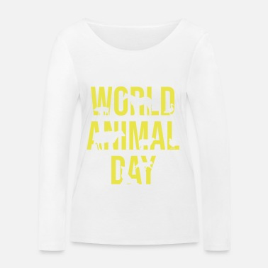 Animal Welfare animal welfare - Women's Organic Longsleeve Shirt by Stanley & Stella