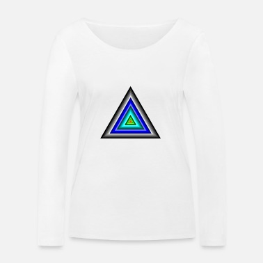 Triangle Triangles en triangle - T-shirt manches longues bio Stanley & Stella Femme