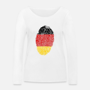 Imprint Imprint Germany Imprint with the flag Germany - Women's Organic Longsleeve Shirt by Stanley & Stella