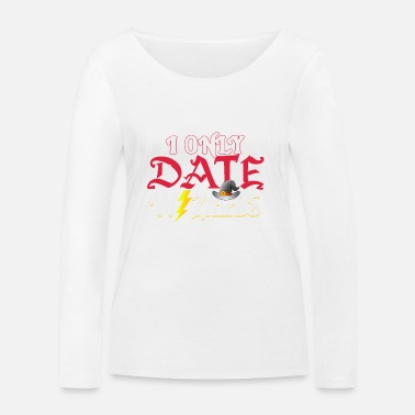 Wizard Lover I seulement les Date Wizard - T-shirt manches longues bio Stanley & Stella Femme