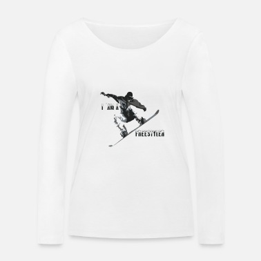 Freestyle freestyler - T-shirt manches longues bio Stanley & Stella Femme