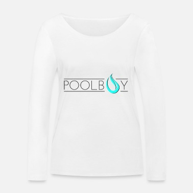 Pool Poolboy Pool Pool 3 - T-shirt manches longues bio Stanley & Stella Femme