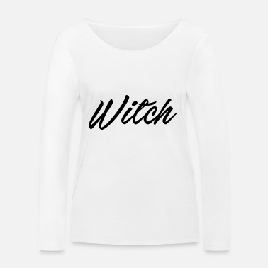 witch - Women's Organic Longsleeve Shirt
