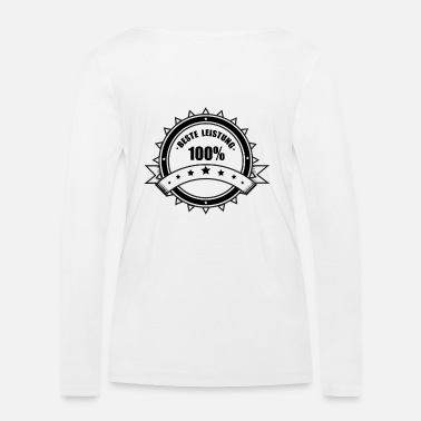 Performance Good performance! - Women's Organic Longsleeve Shirt by Stanley & Stella