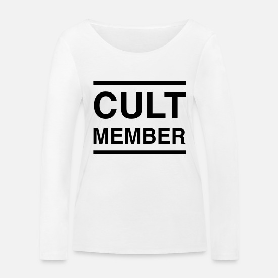 Miscellaneous Long sleeve shirts - Cult Member - Women's Organic Longsleeve Shirt white