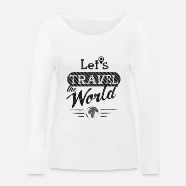 Travel Bug Travel bug - Women's Organic Longsleeve Shirt