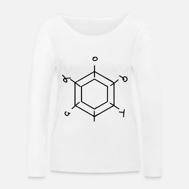 Pi Math Geometry Teacher Teacher Gift - Women's Organic Longsleeve Shirt