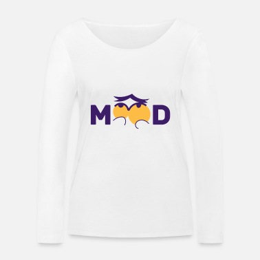 Mood Mood - Thoughtful mood - Women's Organic Longsleeve Shirt