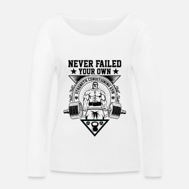 Your own never fails - Women's Organic Longsleeve Shirt