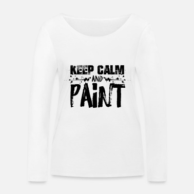 Painter Training Painter painting painter painter training - Women's Organic Longsleeve Shirt