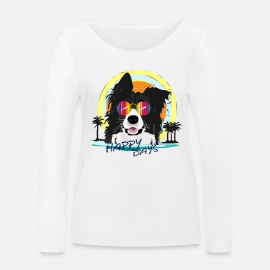 Border collie - Women's Organic Longsleeve Shirt