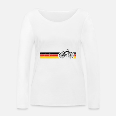National Vélo National Colors National Germany Gift - T-shirt manches longues bio Femme