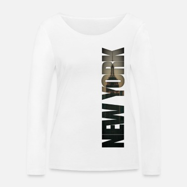 New York City Burlesque - Frauen Bio Langarmshirt