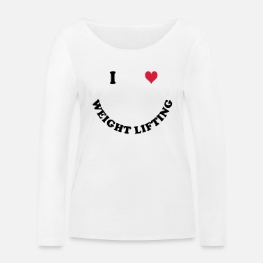 Weights weights - Women's Organic Longsleeve Shirt