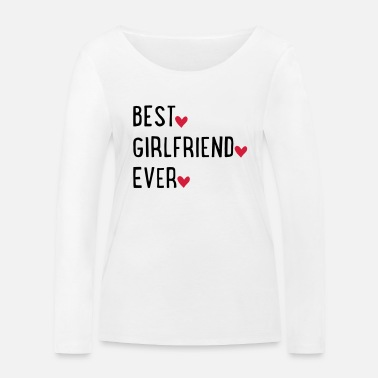 Girlfriend girlfriend - Women's Organic Longsleeve Shirt