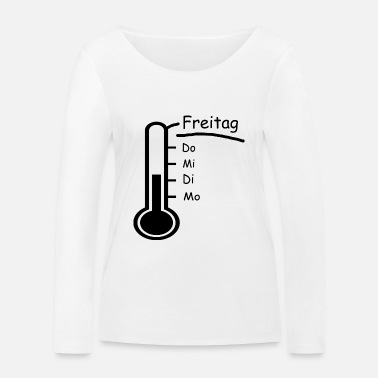 Friday thermometer - Women's Organic Longsleeve Shirt