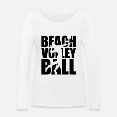 Beachvolleyball Beachvolleyball - Vrouwen bio longsleeve