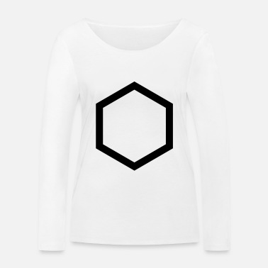 Hexagon hexagon - Women's Organic Longsleeve Shirt