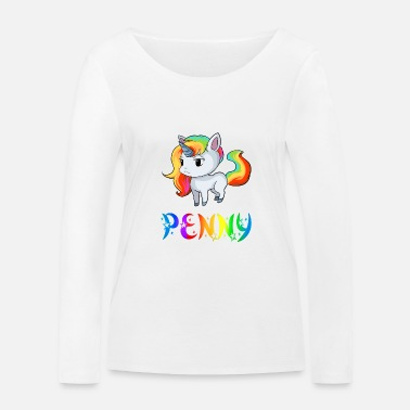 Penny Penny Unicorn - T-shirt manches longues bio Femme