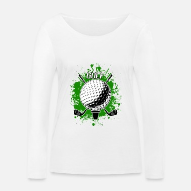 Golf Golf Golfer Golf Course Golf Ball Golf Club - Women's Organic Longsleeve Shirt