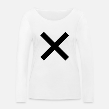 Cross cross - Women's Organic Longsleeve Shirt