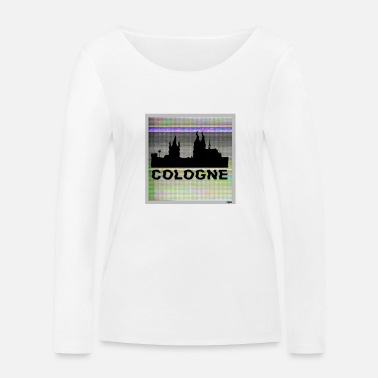 Officialbrands Colonia M1 // odysee - Camiseta orgánica de manga larga mujer