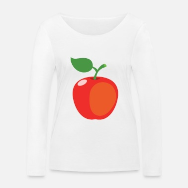 Toddler Apple - Women's Organic Longsleeve Shirt