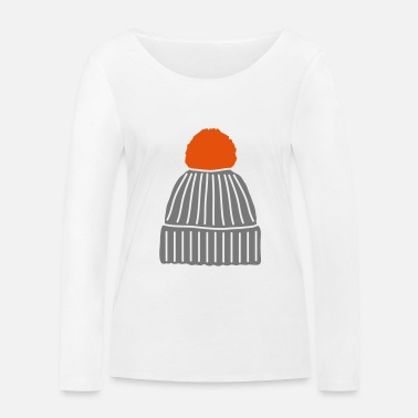 Bobble Hat, Bobble Hat - Women's Organic Longsleeve Shirt