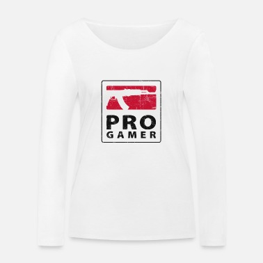 Soldier Of Fortune PRO GAMER - Økologisk langærmet T-shirt dame