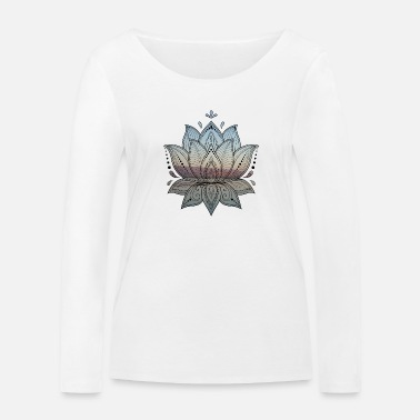 Lotus [GeoPic] - T-shirt manches longues bio Femme