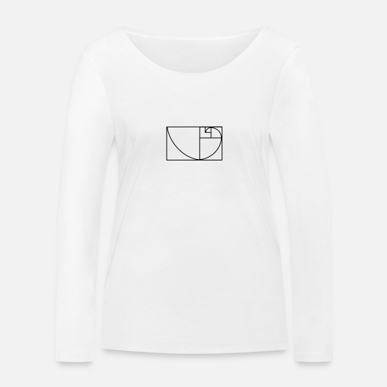 Gift Idea Long Sleeve Shirts - template - Women's Organic Longsleeve Shirt white