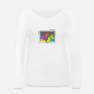 Comic Mirage - Page under construction - Women's Organic Longsleeve Shirt